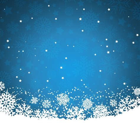 Blue Snowflake Background by Blue Background With Snowflakes And Vector Free