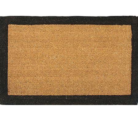 Black Coir Doormat by Xl Black Border Coir Doormat
