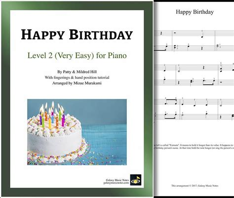 Yes, this is the easiest song that has been introduced to beginners to play and there are websites offering you detailed piano notes with letters for you to practice along with a video to help you understand how to play and. Happy Birthday | Very easy piano sheet music