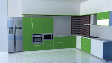 one wall kitchen with island designs 25 design ideas of modular kitchen pictures