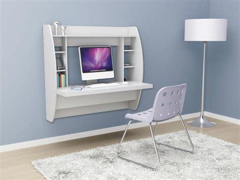 floating computer desk living in a shoebox ten space saving desks that work