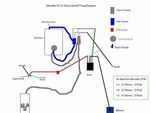 W124 Nitrous Wiring Guide