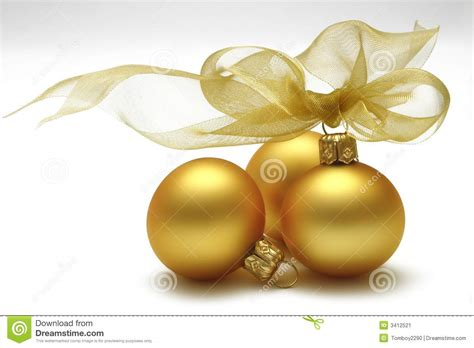 gold baubles stock image image of christmas yellow yule