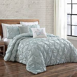 buy brooklyn loom jackson pleated king duvet set in With brooklyn bedding king