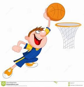 Boy Shooting Basketball Clipart - ClipartXtras