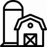 Barn Svg Silo Icon Storage Onlinewebfonts
