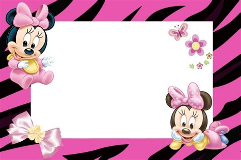baby minnie mouse kit imprimible descargalas todas