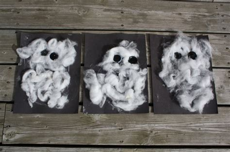 cotton ghost craft for 1000 images about cotton crafts on wool 7525