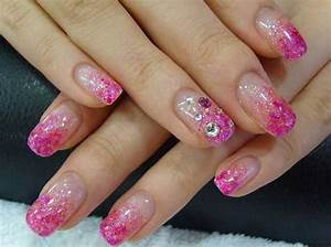 Glitter Nail Art Design, Glitter Nails, Nail Art With Glitter