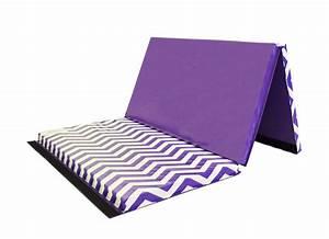 "Chevron Zigzag 4' x 6' x 2"" Folding Gymnastics Mat AK"