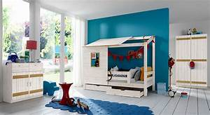 Kinderzimmer Junge 3 Jahre : abenteuerbett mit spielhaus aus holz kids paradise ~ Fotosdekora.club Haus und Dekorationen
