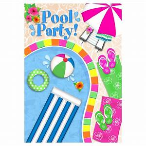 Free Pool Party Clip Art - Cliparts.co