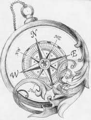 antique compass drawing - Google Search | Coloring book ideas | Compass tattoo design, Tattoo