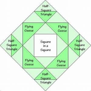 Rising Star Variation Quilt Block Diagram Free Pattern At