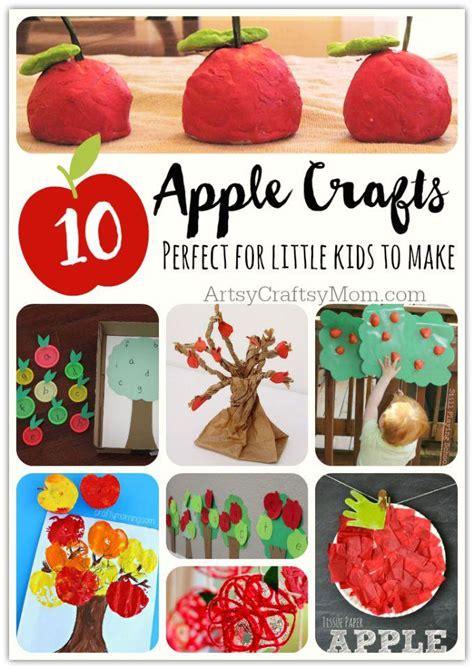 top  easy apple crafts  kids artsy craftsy mom