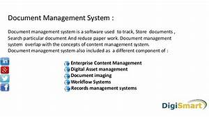doc mangement system With document management system tally