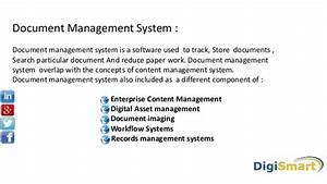 Doc mangement system for Document management system uses