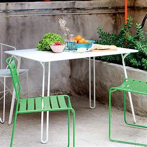 Surprising garden table by fermob connox for Fermob tisch