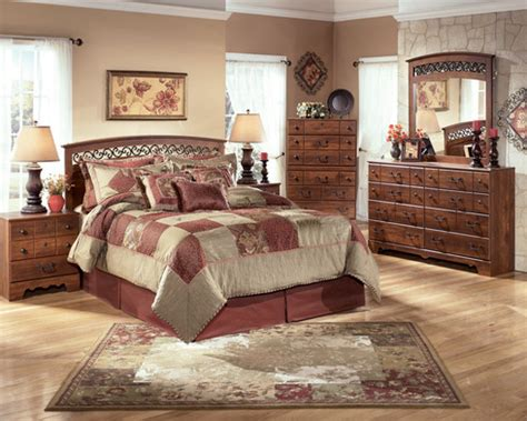 My recent experience at ashley furniture marquette was a great one. Ashley Timberline Bedroom Set - Masters Buy or Lease