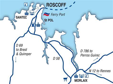 bureau le havre roscoff port guide ferries