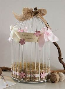 Urne Mariage Champêtre : r serv urne de mariage cage oiseaux blanche ~ Melissatoandfro.com Idées de Décoration