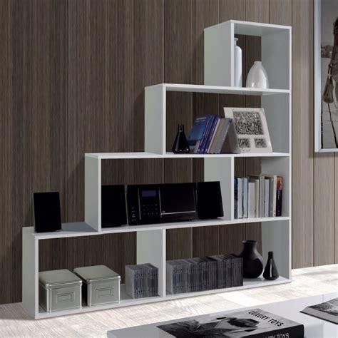 separation de bureaux pas cher klum etag 232 re biblioth 232 que escalier blanc brillant