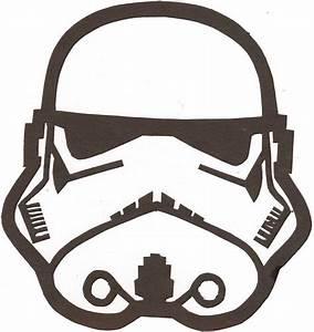 Stormtrooper Helmet Stencil Outline Pictures | Body Art ...