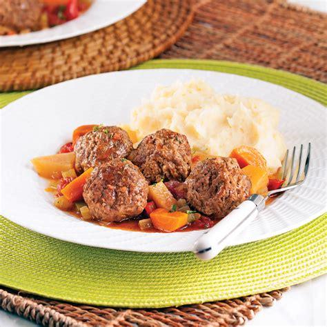 cuisine recettes pratiques stew aux boulettes de boeuf recettes cuisine et