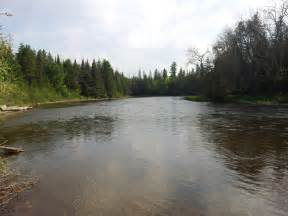 AU Sable River Grayling Michigan
