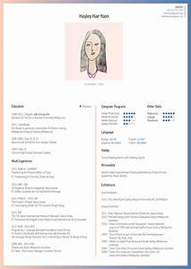 personal resume hae yoon With personalized resume