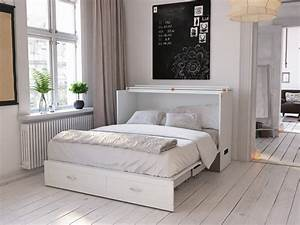 Hamilton, Murphy, Bed, Chest, Queen, White, With, Charging, Station, -, Walmart, Com