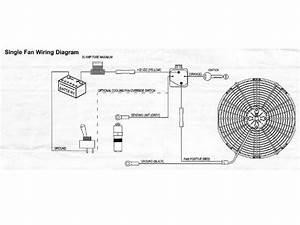 Electric Fan Wiring Diagram