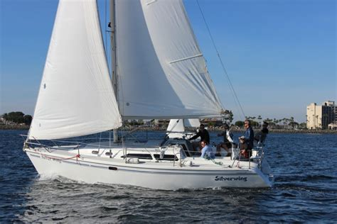 Sailboat Rental San Diego by San Diego Sailboat Rentals Bareboat Charters At Harbor