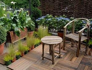 idee deco terrasse bois With lovely idee de terrasse exterieur 4 photo suivante