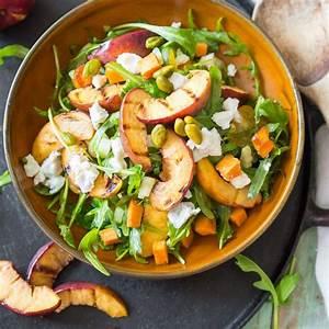 Leichte Salate Rezepte : die besten 25 nektarinen salat ideen auf pinterest obstsalat baum einfache salate und ~ Frokenaadalensverden.com Haus und Dekorationen