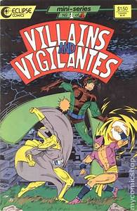Villains And Vigilantes  1986  Comic Books