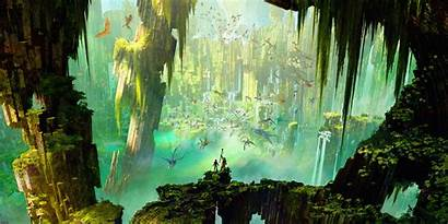 Dragon Train Landscape Concept Animated Movies Wallpapers