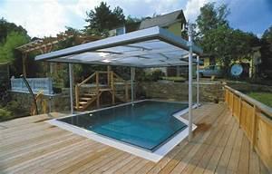 Pool Mit überdachung : beispiele f r schwimmbad berdachungen schwimmbad zu ~ Eleganceandgraceweddings.com Haus und Dekorationen