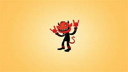 Devil Metal Horns Wallpapers Heavy Smile Tail