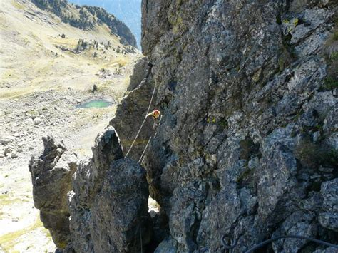 via ferrata des 3 fontaines 224 chamrousse is 232 re