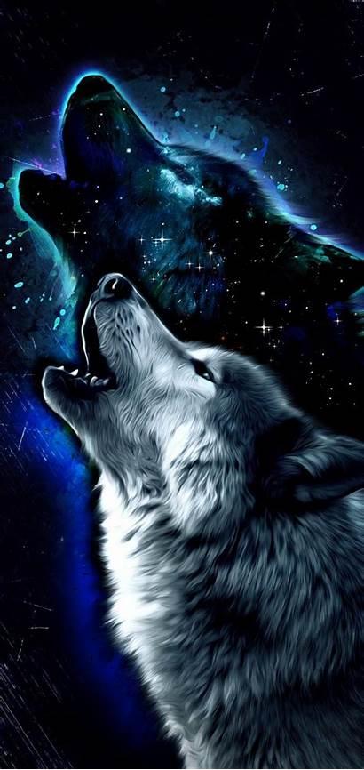 Wolf Galaxy Anime Wallpapers Fury Dog Animal