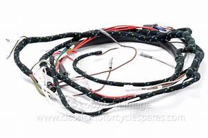 Wiring Harness  Triumph T90 T100 Tr6 T120  1966  12 Volt