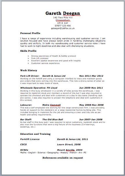 united kingdom resume templates pinterest sample resume