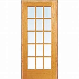 MMI Door 37.5 in. x 81.75 in. Classic Clear True Divided ...