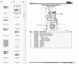 Yale Complete Set Of Parts Manuals For Usa Region 2017 In Pdf