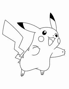 Pokemon coloring pages pikachu cute - ColoringStar
