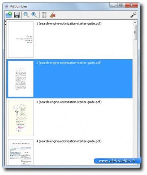 Unire Diversi Pdf by Unire Eliminare E Riordinare Pagine Di Uno O Pi 249 File Pdf