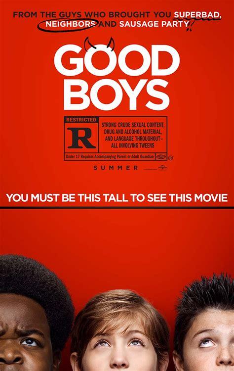 good boys arent tall     poster