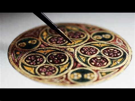Illustrating a Celtic Circle (Kells) - YouTube
