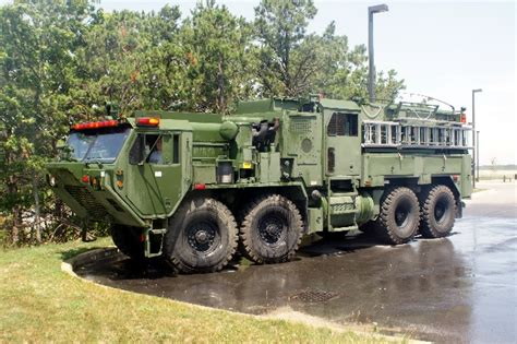 survival truck cer military fire trucks otis army tfft fire trucks